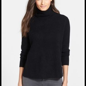 Joie Alpaca Wool Lizetta Caviar Turtleneck Sweater